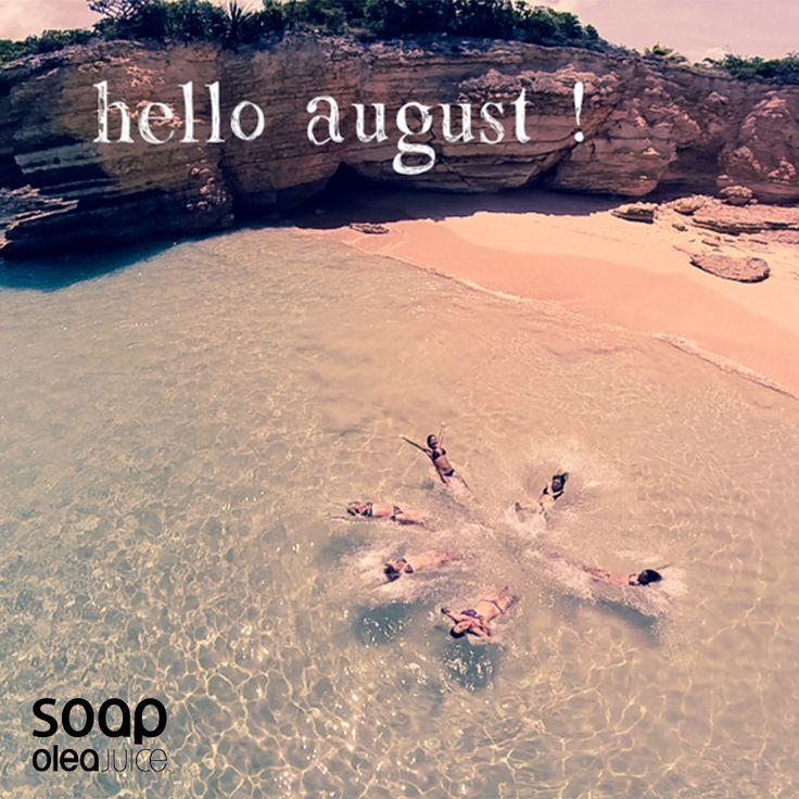 Το Καλοκαίρι είναι εδώ! Εσύ που θα αποδράσεις; #summer2015 #hello #august #oleajuice #soap