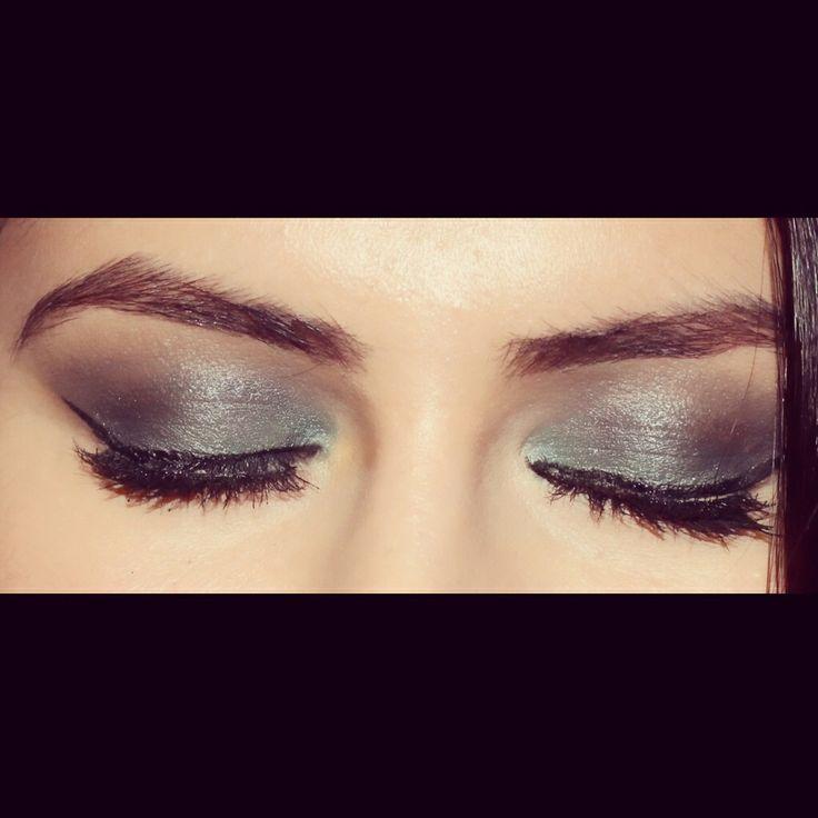 Green smokey eye look I created follow for more eye makeup looks