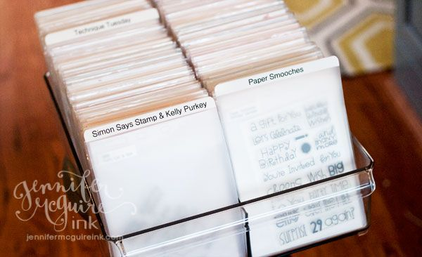 Clear and cling stamp storage... finally found something I love!