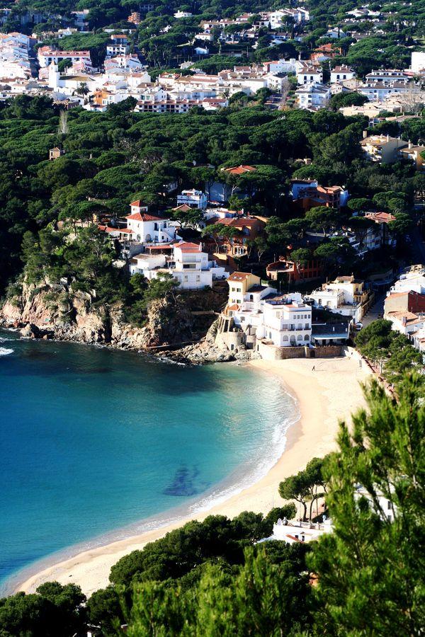 Costa brava, Gerona, Spain A Journey Through France