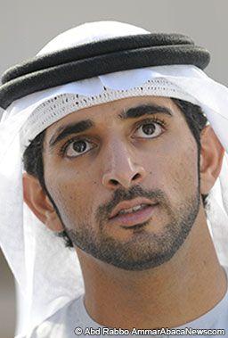 Sheikh Hamdan bin Mohammed bin Rashid al Maktoum. 30 year-old crown prince of Dubai.
