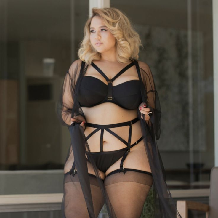 Gabi Fresh Just Launched A Lingerie Line For Curvy Girls And We Want Everything | The famous plus-size blogger teamed up with Playful Promises tohelp us celebrate our curves in a very sexy way!