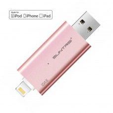 Dual USB stick | Flash drive | USB - Lightning | iPhone | iPad | 32GB | roze