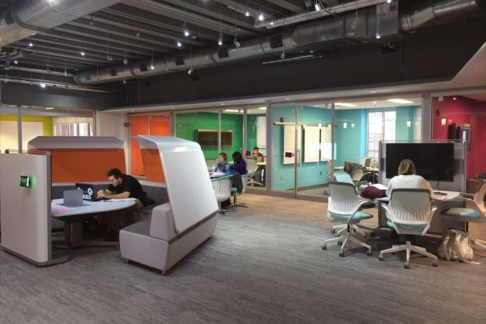 41 best most loved steelcase pins images on pinterest for Most innovative office spaces