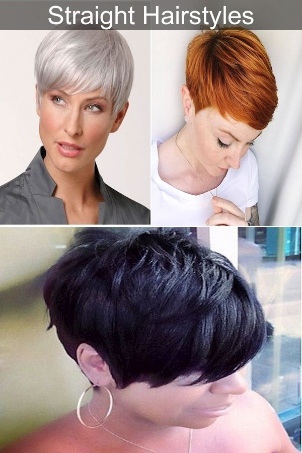 Hair Products To Make Hair Straight Very Short Hairstyles Effective Hair Straightening In 2020 Straight Hairstyles Hair Styles Very Short Hair