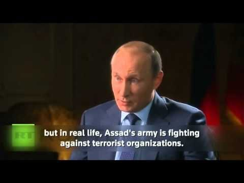 BREAKING - Putin : America Support for ISIS is Illegal