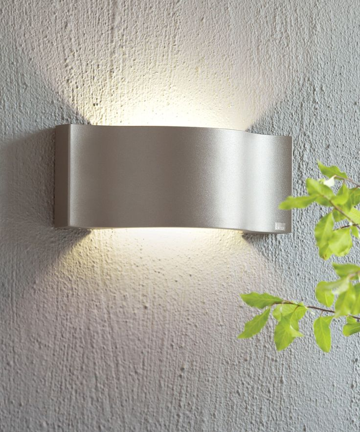 LEDlux Kast IP54 Up/Down Wall Bracket in Charcoal
