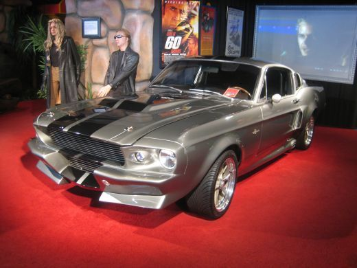 Eleanor from Gone in 60 Seconds at the Hollywood Star Cars Museum in Gatlinburg, Tennessee.