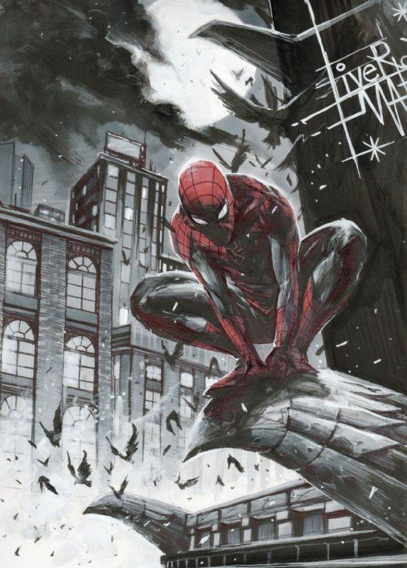 #Spiderman #Fan #Art. (Spider-Man Illustrations) By: Francesco Mattina. ÅWESOMENESS!!!™ ÅÅÅ+