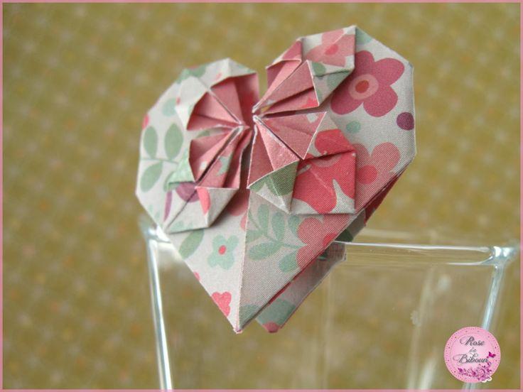rose de biboun pliages origami papier pinterest. Black Bedroom Furniture Sets. Home Design Ideas