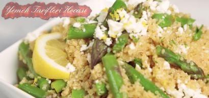 Bulgurlu Kuşkonmaz Salatası #SalataTarifleri #kuşkonmazçorbası #kuşkonmaznasılhazırlanır
