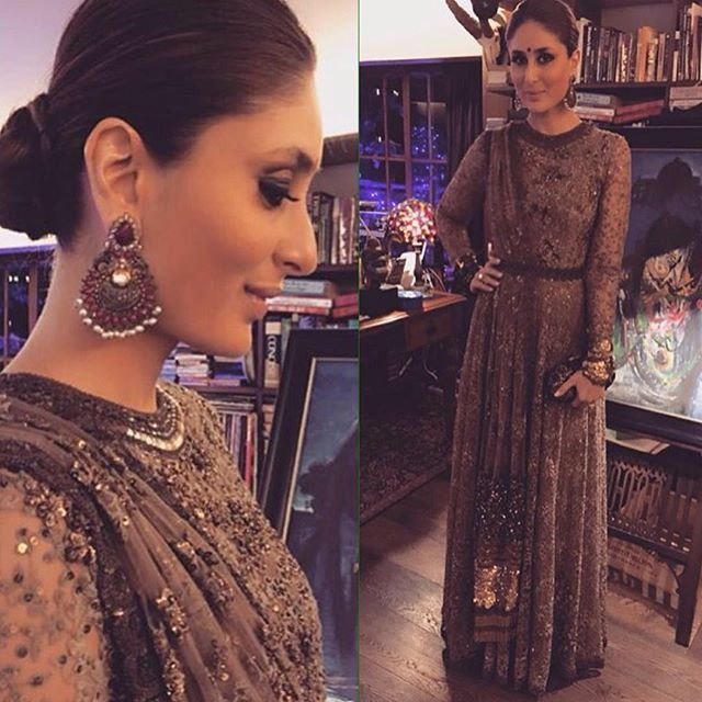 Did someone just say where's the shimmer and shine? Coz Kareena just gave us a good dose of that in this @sabyasachiofficial look.