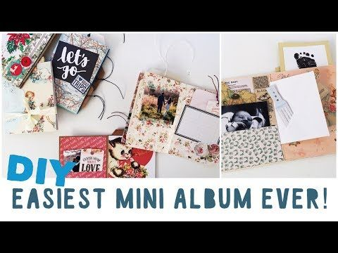 The 765 best albums books minis etc images on pinterest mini tutorial how to make an easy mini album for beginners diy travel diary solutioingenieria Gallery