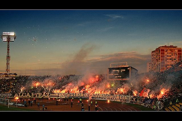 Partizan Belgrade Fans - Grobari