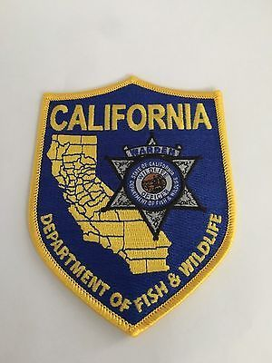 67 best wildlife agency patches images on pinterest for Calif fish and wildlife