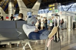 Need a quick nap? Pop on your Ostrich pillow!