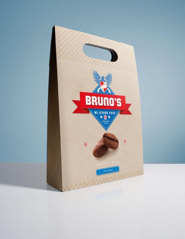 Bruno Coffee by Josip Kelava, via Behance