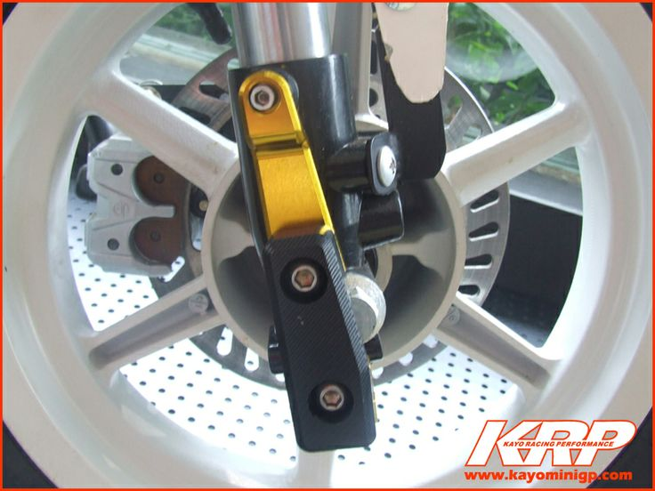 CNC Front Axle Protector - Gold [KRP-44302-000G] : KRP, Kayo Racing Performance