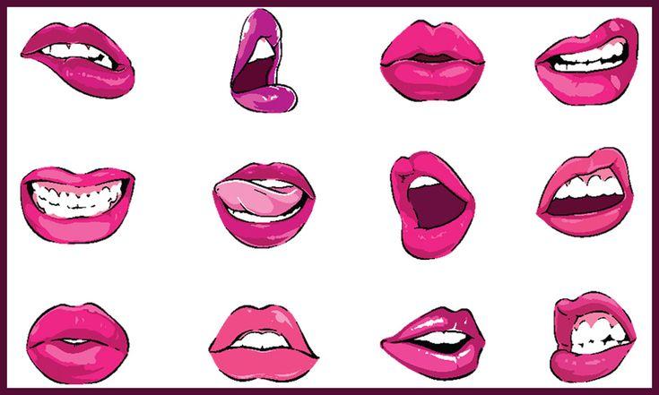 Pop Art Style Vector Lips Pack  - https://www.designcuts.com/product/pop-art-style-vector-lips-pack/