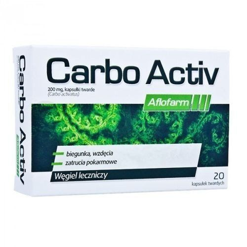 CARBO ACTIVE 200mg x 20 capsules activated charcoal uses, bacterial exotoxins, charcoal tablets