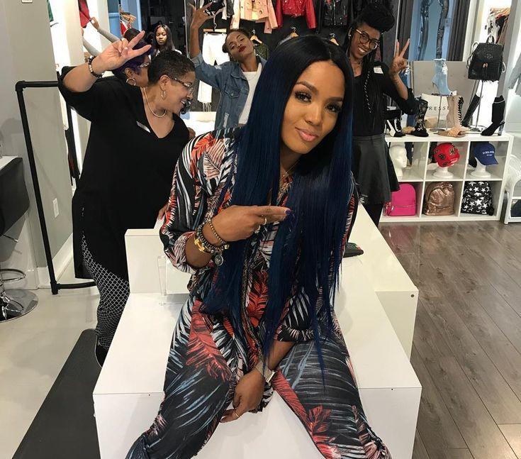 Kirk Frost's Estranged Wife Rasheeda Debuts New Colorful Hair Colors In Stunning Pictures #KirkFrost, #RasheedaFrost celebrityinsider.org #Entertainment #celebrityinsider #celebrities #celebrity #celebritynews