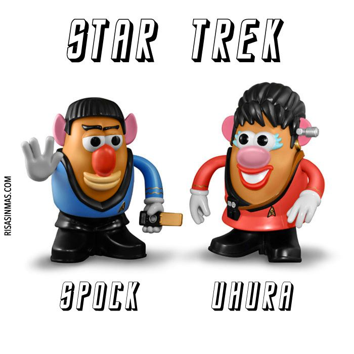 Mr. Potatos de Star Trek