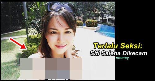 Siti Saleha Dikecam Lagi   Siti Saleha Dikecam Lagi  Pelakon jelita Siti Saleha sekali lagi menjadi tumpuan orang ramai apabila mengenakan pakaian singkat yang dikatakan agak terdedah. Pelakon yang juga adik kepada Sam Bunkface ini memuatnaik gambar di laman sosial instagramnya dan telah dikritik oleh netizen. Netizen mempersoalkan pakaian Siti Saleha yang agak terdedah itu selain memberi nasihat kepada pelakon itu agar mengenakan pakaian yang lebig sopan. Jom lihat gambar dan juga komen…