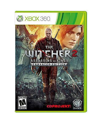 The Witcher 2: Assassins Of Kings Enhanced Edition  (Xbox 360, 2012) 3 Discs #xbox360 #gamers #action #videogames
