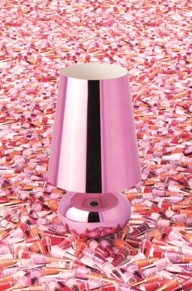 Cindy lamp surrounded by Trasparenze nail polish