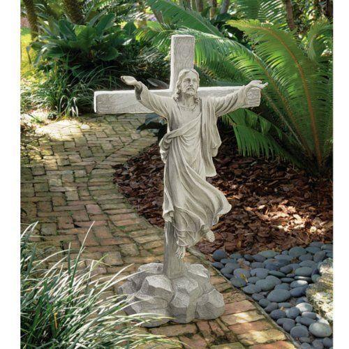 Italian ascending jesus christ sculpture statue by carlo - Exterior church crosses for sale ...