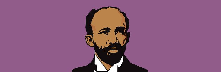 """William Edward Burghardt """"W. E. B."""" Du Bois (1868-1963) was was a leading African-American sociologist, writer and activist. Educated at Harvard University and other top schools, Du Bois studied with some of the most important social thinkers of his time. He earned fame for the publication of such works as Souls of Black Folk (1903), and was a founding officer of the National Association for the Advancement of Colored People (NAACP) and editor of its magazine."""