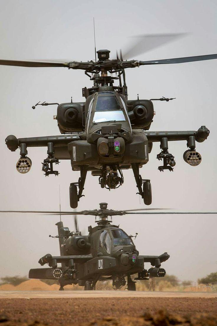AH-64D Netherlands on UN duty