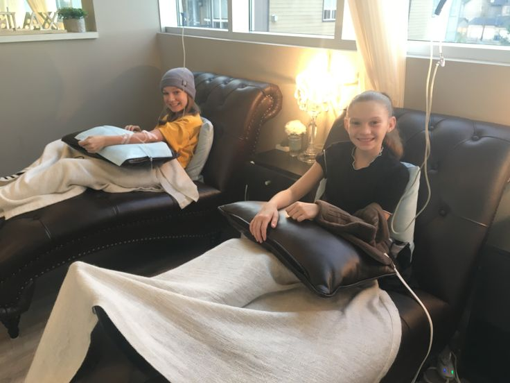 Sisters getting #ivtherapy together