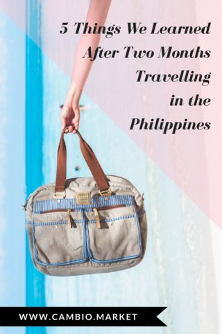 The Philippines has an amazing ecosystem of young and successful startups that are prioritize people AND planet. We travelled for two months meeting the people, founders, Filipino artisans, and entrepreneurs behind the businesses and brands that are leading the fair trade and slow fashion movement in the country. So be sure to add the Philippines to your bucket list of inspiring destinations and satisfy your wanderlust!