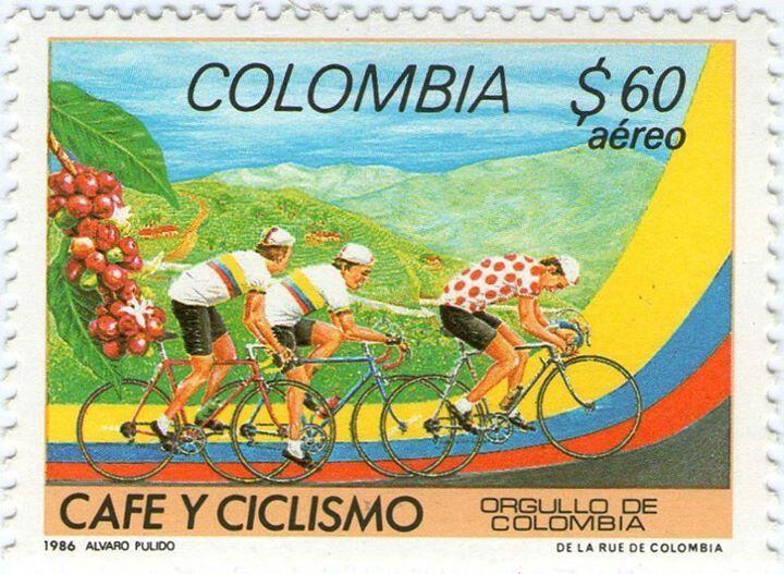 ¡¡¡ORGULLO DE COLOMBIA CAFÉ Y CICLISMO!!!!