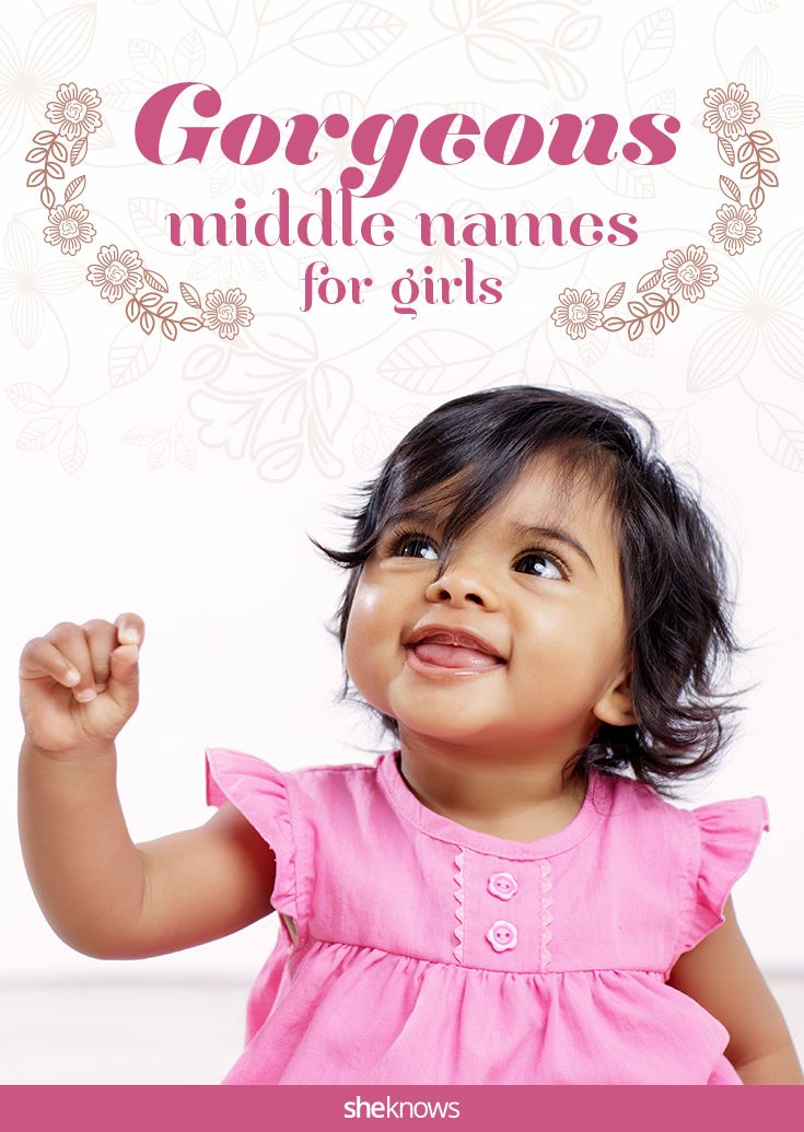 These middle names for girls make for the perfect monogram. #babynames