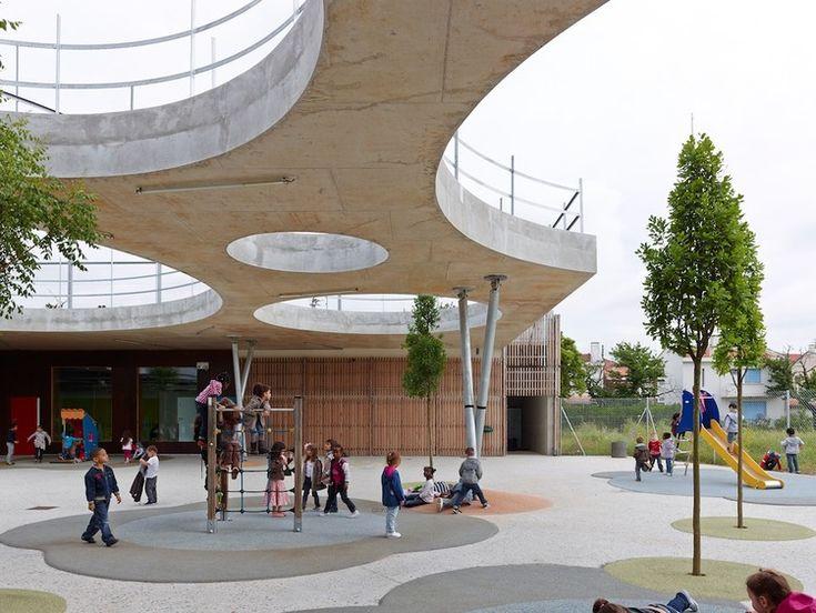 Escola Lucie Aubrac / Laurens&Loustau Architectes, © Stéphane Chalmeau