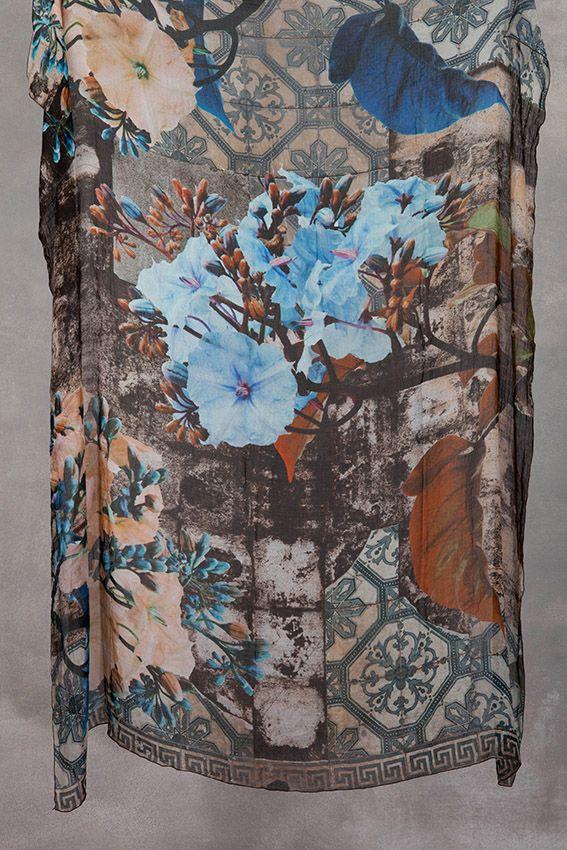 print textile design elisabetta scarpini, scarf H21