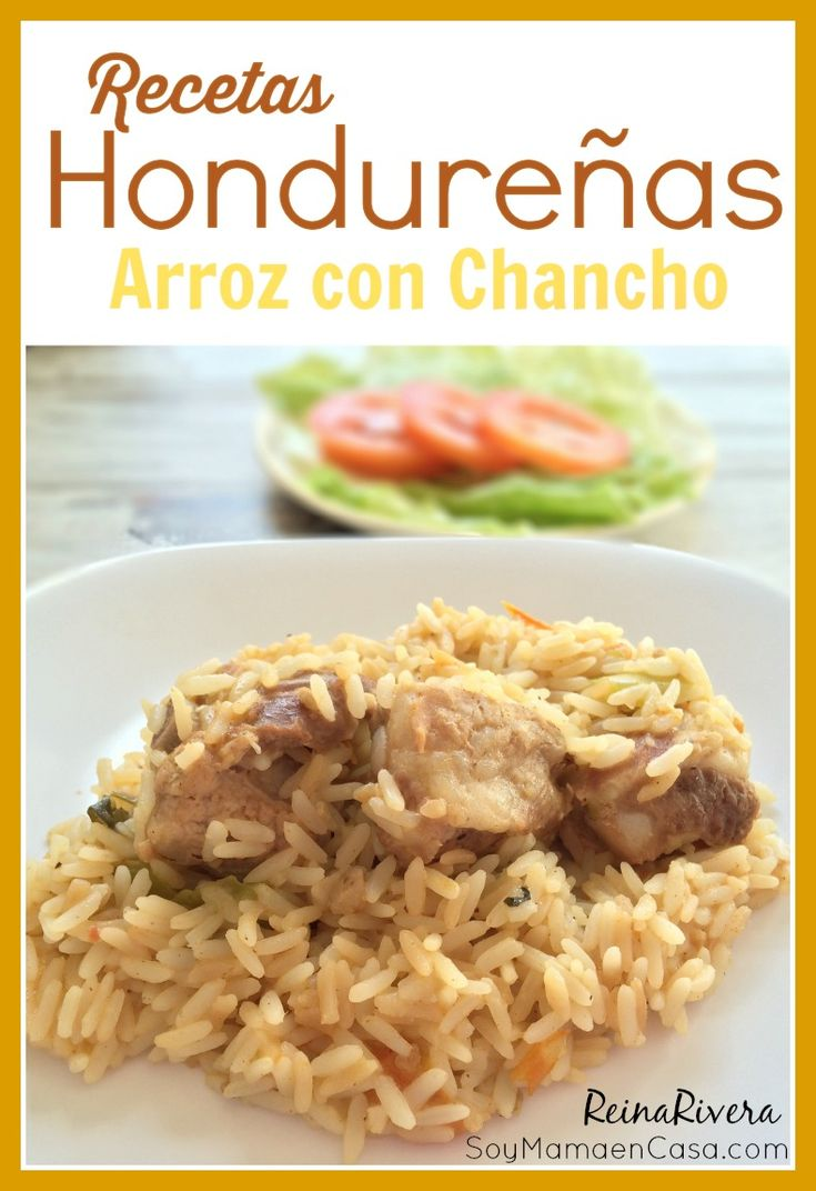 Inicio de una serie de #recetas Hondureñas, el primer platillo es el delicioso Arroz con Chancho #Honduras #recipes