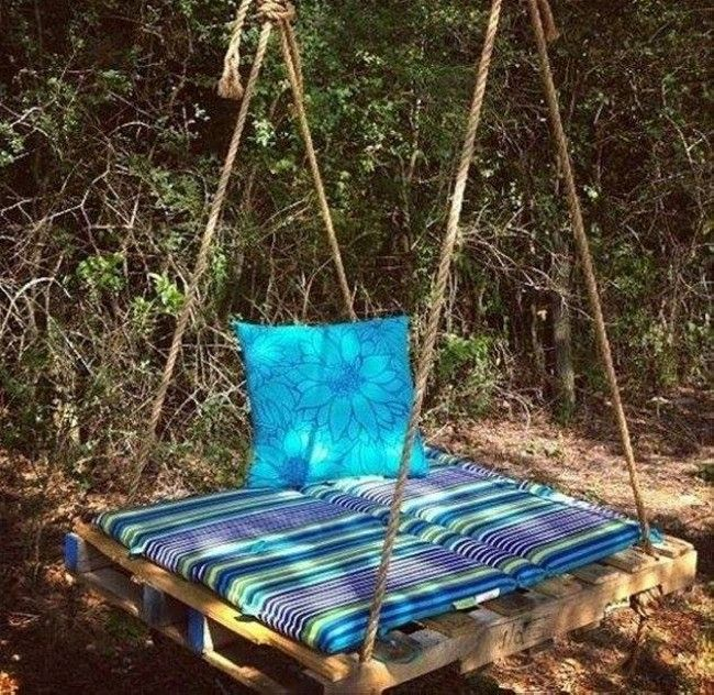 Pallet Swing for Kids  #‎kids‬ ‪#‎kidsplayhouse‬ ‪#‎kidsbunkbed‬ ‪#‎palletforkids‬ ‪#‎palletprojects‬ ‪#‎palletideas‬ ‪#‎palletrecycled‬ ‪#‎palletupcycled‬ ‪#‎pallets‬