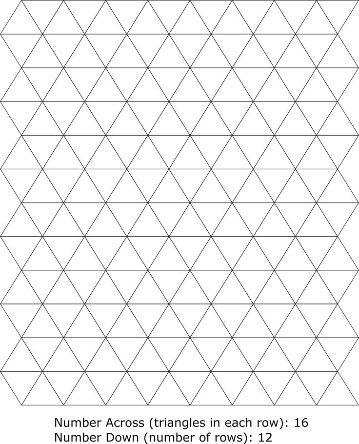 The 25+ best Calculate triangle ideas on Pinterest Quilt size - triangular graph paper