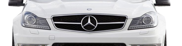 2012-2014 Mercedes C Class W204 Vaero C63 Look Conversion Grille and Mounting Accessories - 1 Piece