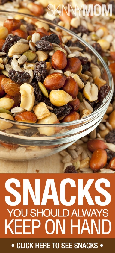 Get The Skinny On These Great Snacks Your Should ALWAYS Keep On Hand!!!!
