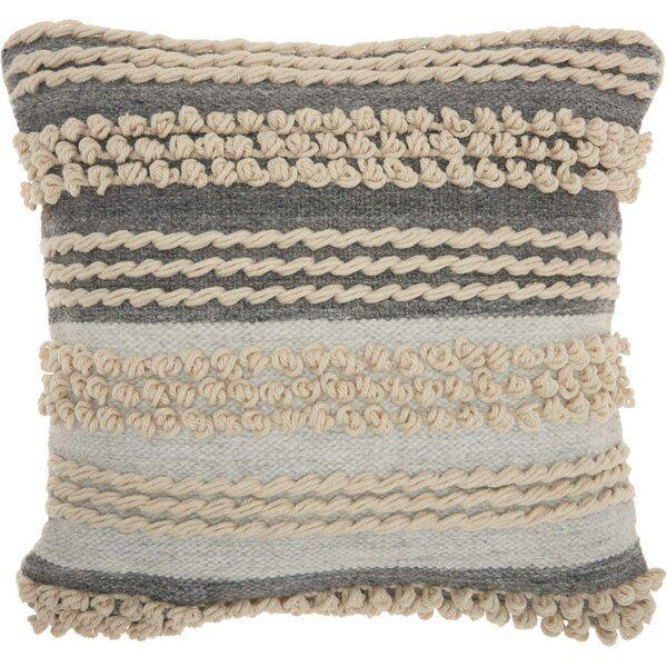 Ellijay Bohemian Textured Throw Pillow Reviews Joss Main Textured Throw Pillows Blue Throw Pillows Oversized Throw Pillows