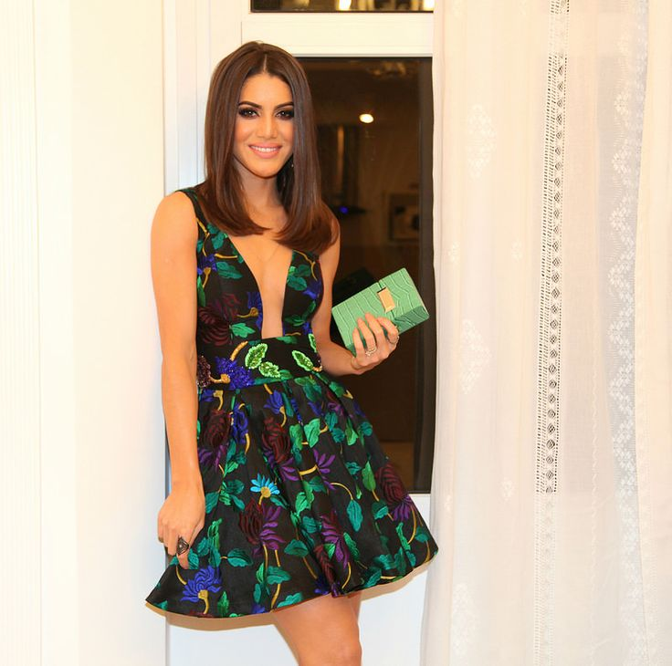 camila coelho floral party dress 3