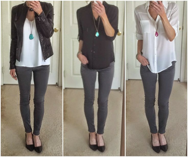 It's Mostly About Fashion: Gray Jeans Inspired