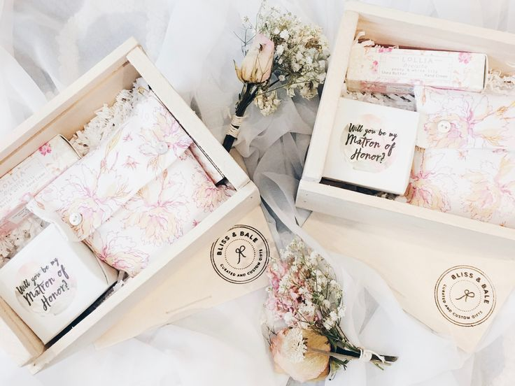 364 Best Bridesmaid Proposal Box Ideas Images On Pinterest