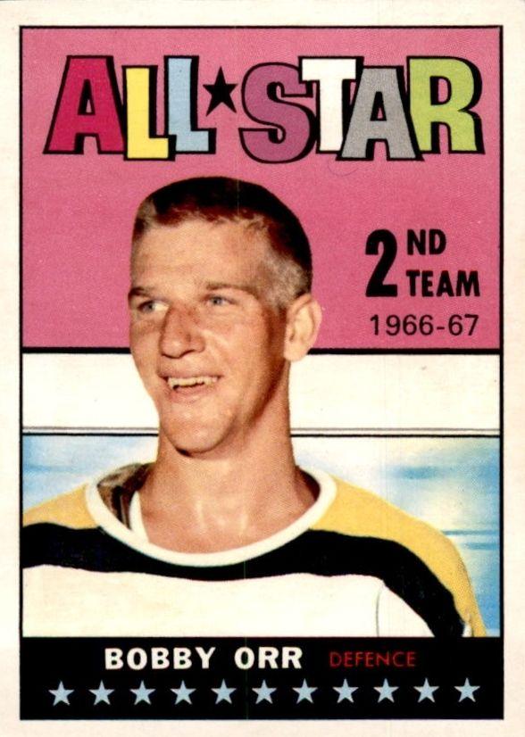 Bobby Orr 1967-68 Topps #128