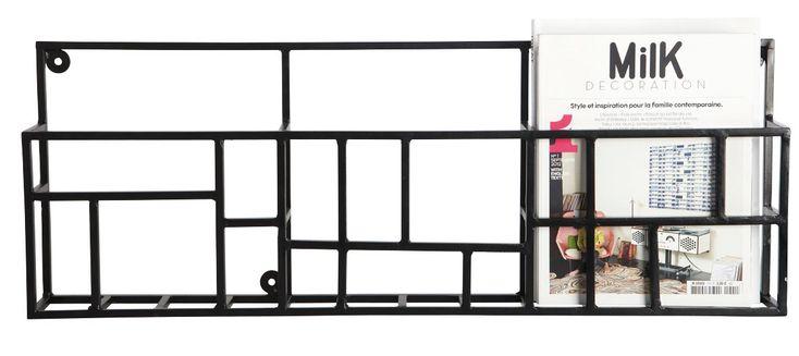 ber ideen zu zeitschriftenst nder wand auf. Black Bedroom Furniture Sets. Home Design Ideas