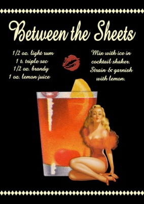 Between the Sheets Cocktail | Cocktail Hour | Pinterest